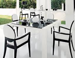 lacquer dining room sets dining room modern contemporary dining table awesome black