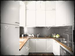 Small White Kitchen Cabinets Modern White High Gloss Kitchen The Popular Simple Kitchen Updates