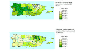 Maps Of Puerto Rico by Jmir Socioeconomic And Geographic Disparities In Health
