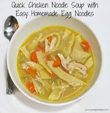 thanksgiving egg noodles chicken noodle soup with homemade egg noodles