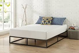 Low Profile Bed Frame Zinus Modern Studio 10 Inch Platforma Low Profile Bed