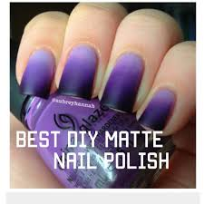 best diy matte nail polish amazing results youtube