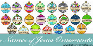 names of jesus printables