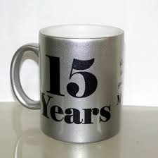 silver mug anniversary metallic silver mug customize nation