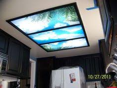 Kitchen Light Diffuser - design problem solved overhead fluorescent lighting fluorescent