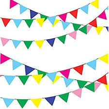 tsmd 750 ft multicolor pennant banners string flag