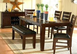 Country Style Dining Room Table Kitchen Table Set With Bench U2013 Thelt Co