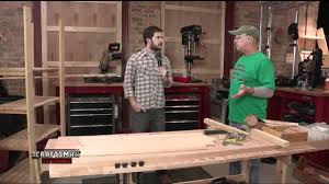 how to make wood shelves for your garage or basement youtube