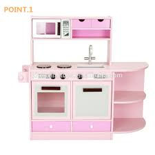 Kitchen Sets For Girls Pink Color Mdf Material Kids Kitchen Toy Set For Girls Buy