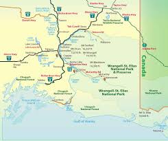 Ketchikan Alaska Map by Copper Valley Chamber Of Commerce Alaska