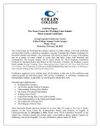 cfp class the center for working class studies 3rd annual conference