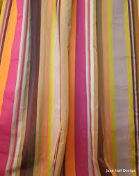 Orange Curtain Material Jab