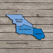 Solvang Map Market Coverage By Local Craft Distribution