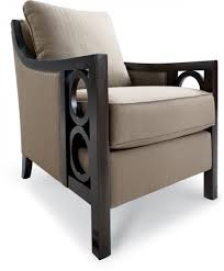 Chair Angus Ii Accent Chair In Brown Chairs Seating Chocolate - Leather accent chairs for living room