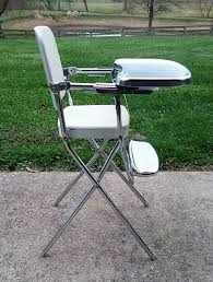 Painted Metal Vintage Cosco High Chair Old Wooden High Chair Worth Home Chair Decoration