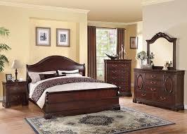 Traditional Cherry Bedroom Furniture - dallas designer furniture bedroom sets