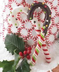 frosted candy cane christmas tree ornaments tree classics