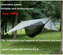 naturehike 1 person hammock with bed net portable ultralight