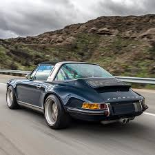 porsche singer singer vehicle design shots of high grade retromod porsche 911