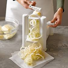 paderno cuisine spiral vegetable slicer paderno spiralizer 3 blade williams sonoma