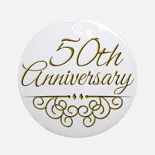 50th anniversary ornaments 50th wedding anniversary 50th wedding anniversary ornaments
