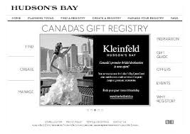 bay wedding registry top 10 registry ideas for the canadian slice ca