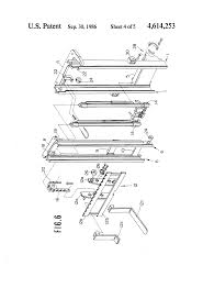 patent us4614253 mast channel member configuration of forklift