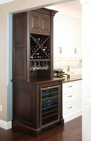 custom wood wine racks threshold enclosed kitchen island best 2017