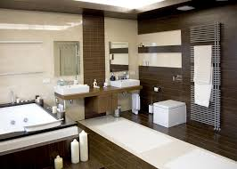 Decorative Bathrooms Ideas by Beautiful Dark Wood Bathroom Chic Decorating Bathroom Ideas With