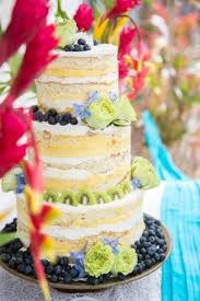 picture of yummy summer wedding cakes