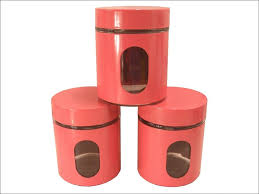 kitchen kitchen canister sets modern kitchen canisters red