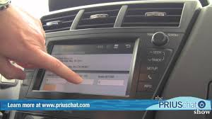 2012 toyota prius v video demo entune audio system youtube
