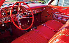 Classic Ford Truck Interiors - 1962 chevrolet impala ss409 vs 1963 ford galaxie 500 motor