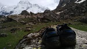 Har Map 5 Life Lessons Learnt On An Himalayan Trek Feet On The Map