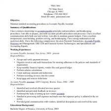 sample resume accounts payable officer writing a cover cover letter