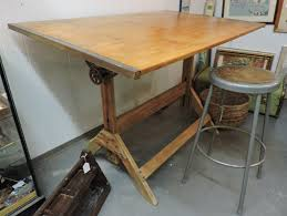 Large Drafting Table Found In Ithaca A Fabulous Large Vintage Drafting Table Desk 385