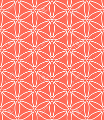 home design coral color background patterns beach style compact