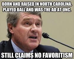 Unc Basketball Meme - si how john swofford brought stability to the acc statefans