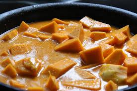 comment cuisiner une courge butternut curry à la courge butternut tofu et bette à carde recettes véganes