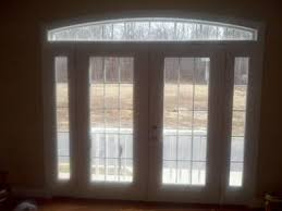 Patio Door With Sidelights French Doors With Arch Transom Above
