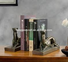 italy handmade bookend resin with white cute bookends custom made