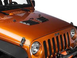 jeep hood vents rugged ridge wrangler performance hood vents black 17759 09 97 17
