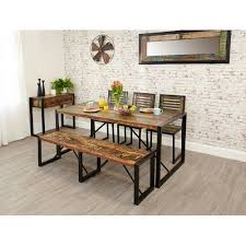 Dining Tables With Bench And Chairs 62 Best Furniture Images On Pinterest Chairs Live And Workshop