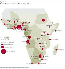 Sub Saharan Africa Map by Full Report A T Kearney Southeast Asia