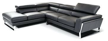 Top Grain Leather Sectional Sofa Tesla Dark Brown Top Grain Leather Reclining Sectional Sofa