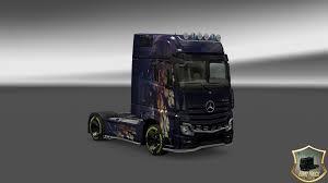 mercedes actros 2014 mercedes actros 2014 vetv v2 skin 1 22 mod truck simulator 2