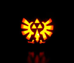 Zelda Pumpkin Stencil by These Video Game Pumpkins Are Ghoulishly Effective Nintendo Life