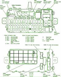 fuse box diagram honda civic fuse wiring diagrams instruction