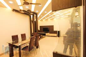 decor recessed lighting and wall partition design photos with