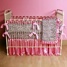 pink and white girls bedding baby nursery engaging baby nursery room decoration using